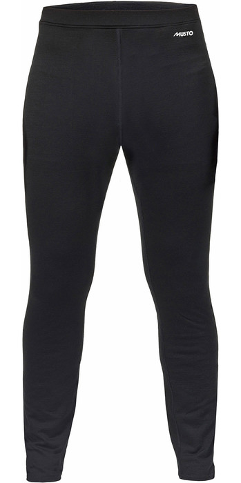2021 Musto Merino Base Layer Trousers Black SMTH028