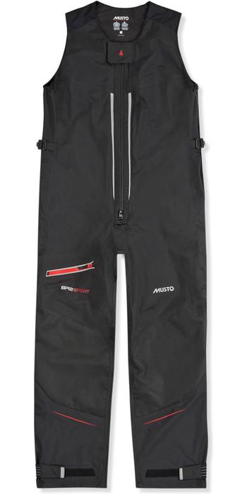 2021 Musto Mens BR2 Sport Salopettes Black SMTR049