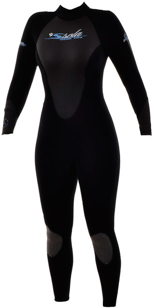SOLA Vision Womens 3 2mm Steamer Wetsuit in BLACK Sola 233675d0a