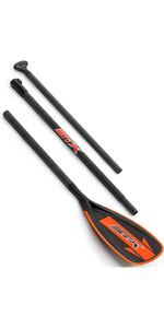 STX Glass 3-Piece Travel SUP Paddle Orange 70715