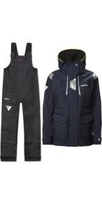 2021 Musto Womens BR2 Offshore Jacket & BR1 Trouser Combi Set - Navy / Black