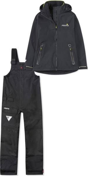 2019 Musto Womens BR1 Inshore Jacket SWJK016 & Trouser SWTR011 Combi Set Black
