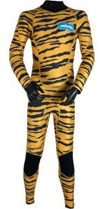 2019 Saltskin Junior 3/2mm Back Zip Wetsuit - Tiger