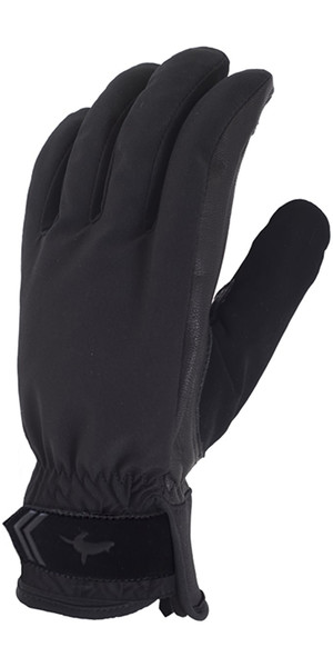 2018 Sealskinz Womens All Season Gloves Black / Charcoal 704001