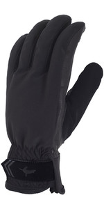Sealskinz Womens All Season Gloves Black / Charcoal 704001