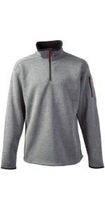 2018 Gill Mens Knit Fleece in Silver 1491