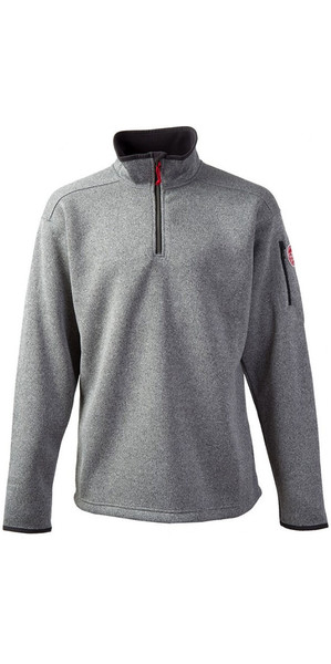 2018 Gill Mens Knit Fleece in Silver 1491