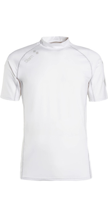 2020 Slam WIN-D Anti-UV SS Stretch Top White S112484T00