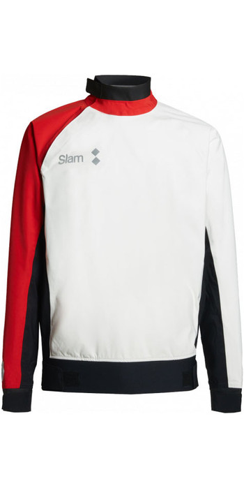 2020 Slam WIN-D Racing Coastal Spray Top White / Slam Red