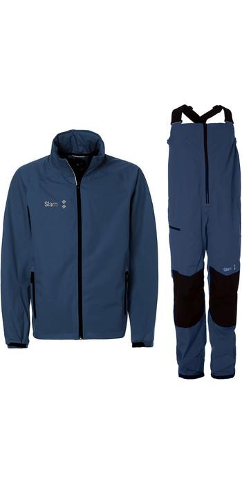 2019 Slam WIN-D Sailing Jacket & Trouser Combi Set - Navy