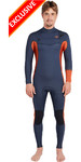 Billabong Furnace Revolution 3/2mm Chest Zip Wetsuit Slate L43M50