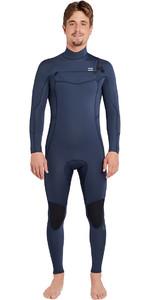 2019 Billabong Furnace Absolute 3/2mm Chest Zip Wetsuit Slate L43M09