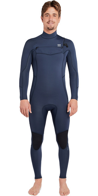 2018 Billabong Furnace Absolute 3/2mm Chest Zip Wetsuit Slate L43m09 Picture