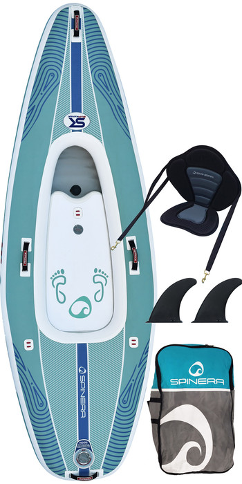 2021 Spinera SK 10'0 1 Person Inflatable SupKayak - Blue