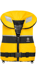 2019 Crewsaver Adult Spiral 100n Life Jacket in Yellow / Black 2820