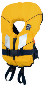 2021 Crewsaver Junior Spiral 100n Life Jacket in Yellow / Black 2820 Child & Baby