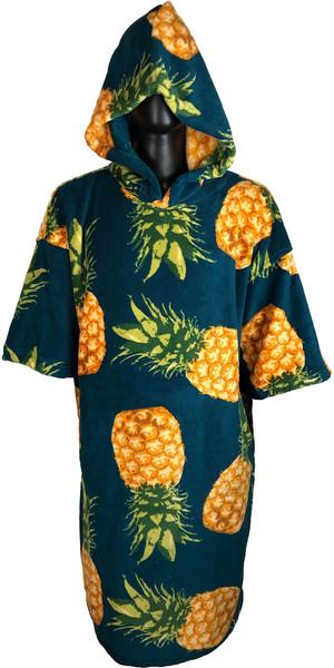 2019 TLS Hooded Poncho / Change Robe Pineapple