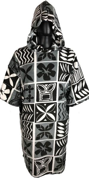 2019 TLS Hooded Poncho / Change Robe Tapa Mono