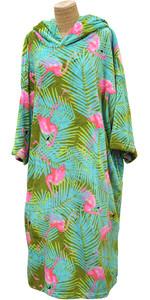 2020 TLS Hooded Poncho / Change Robe Poncho2 - Flamingo