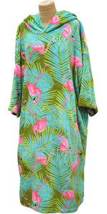 2020 TLS Hooded Poncho / Change Robe Poncho2 - Flamingo