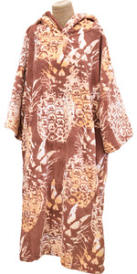 2020 TLS Hooded Poncho / Change Robe Poncho6 - Hawaiian Pineapple