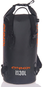 2020 Typhoon 30L Backpack Dry Bag Black 495016