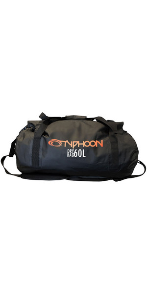 2018 Typhoon 60L Dry Bag Holdall Black 495014