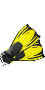 2020 Typhoon Kids Junior T-Jet Fins YELLOW 33018