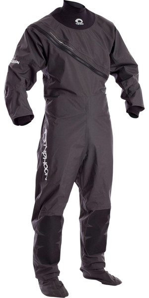 2019 Typhoon Ezeedon 3 Front Zip Drysuit Grey 100158