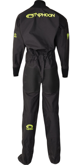 2020 Typhoon Junior Ezeedon 4 Front Zip Drysuit 100173 - Black