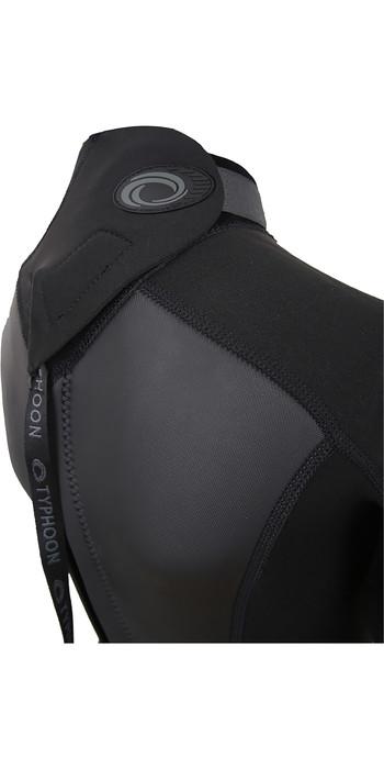2021 Typhoon Junior Storm3 3/2mm Back Zip Wetsuit 25092 - Black / Graphite
