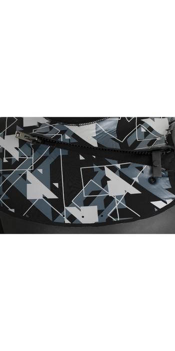 2020 Typhoon Mens Vortex 5/4mm GBS Chest Zip Wetsuit 250643 - Black / Silver
