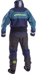 2019 Typhoon Multisport 5 Sea Kayak Drysuit Navy / Teal 100176