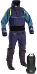2019 Typhoon Multisport 5 Sea Kayak Drysuit Inc Dry Borsa a tracolla Navy / Teal 100176