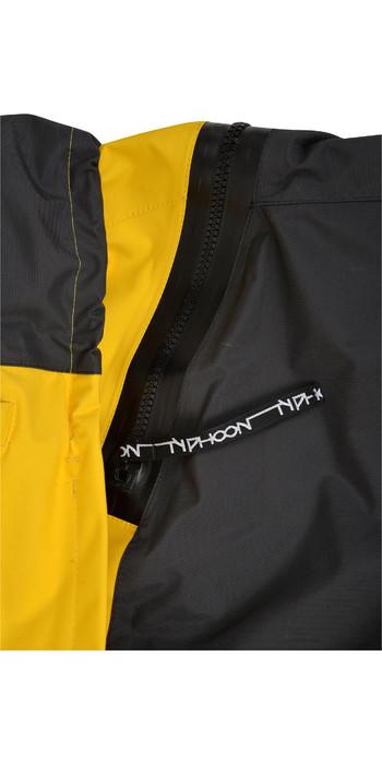 2020 Typhoon PS440 Hinge-Entry Drysuit 100182 - Yellow / Grey