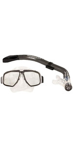 2019 Typhoon Pro Adult Snorkelling Set Silver 320382