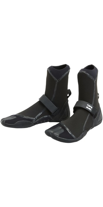 2020 Billabong Furnace 5mm Hidden Split Toe Boots U4BT11 - Black