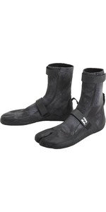 2021 Billabong Revolution 3mm Split Toe Boots U4BT23 - Black Tie Dye