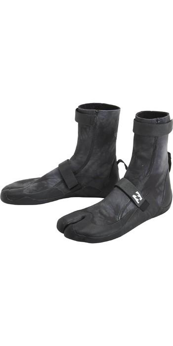 2021 Billabong Revolution 3mm Split Toe Boots U4BT23 - Black Tie Dye