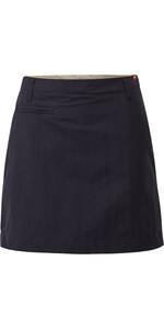 2021 Gill Womens UV Tec Skort Navy UV006W