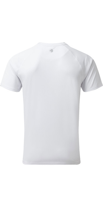 2020 Gill Mens UV Tec Tee White UV010