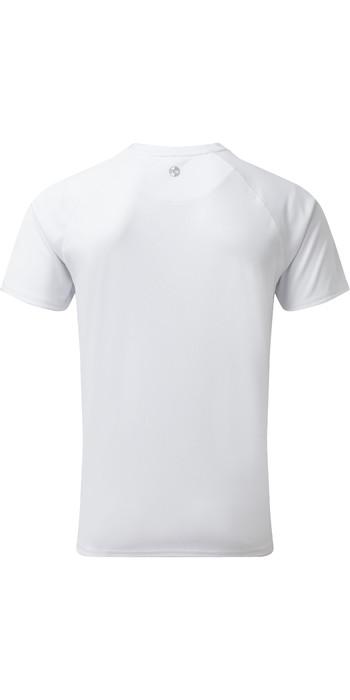 2021 Gill Mens UV Tec Tee White UV010