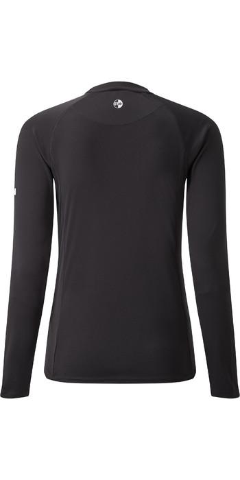 2021 Gill Womens Long Sleeve UV Tec Tee Charcoal UV011W