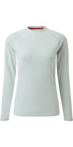 2021 Gill Womens Long Sleeve UV Tec Tee Grey UV011W