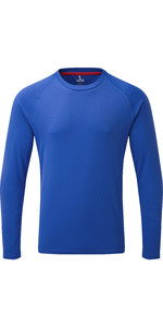 2019 Gill Mens Long Sleeve UV Tec Tee Blue UV011