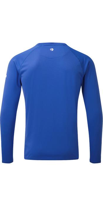 2019 Gill Mens Long Sleeve UV Tec Tee Blue UV011