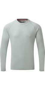 2021 Gill Mens Long Sleeve UV Tec Tee Grey UV011