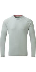 2019 Gill Mens Long Sleeve UV Tec Tee Grey UV011