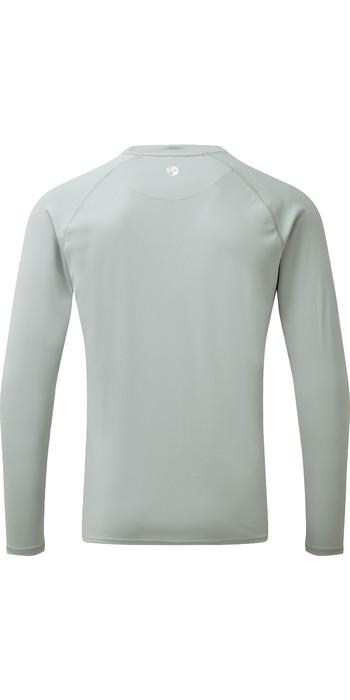 2021 Gill Mens Long Sleeve UV Tec Tee Grey UV011