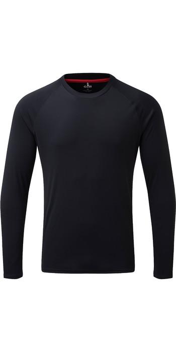 2021 Gill Mens Long Sleeve UV Tec Tee Navy UV011